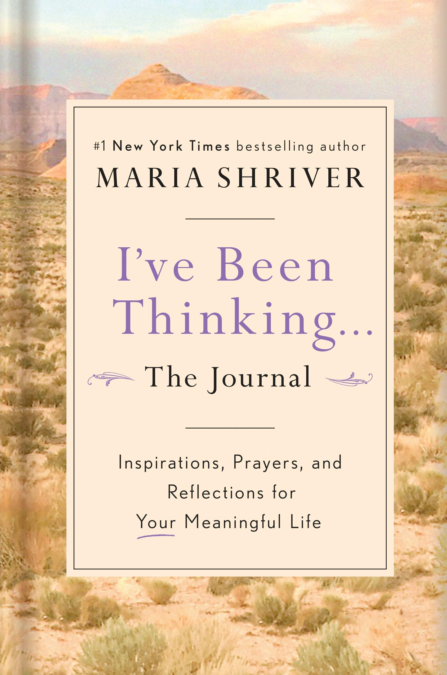 I've Been Thinking . . . The Journal: Inspirations, Prayers, and Reflections for Your Meaningful Life in hardcover. | Source: Amazon.cm