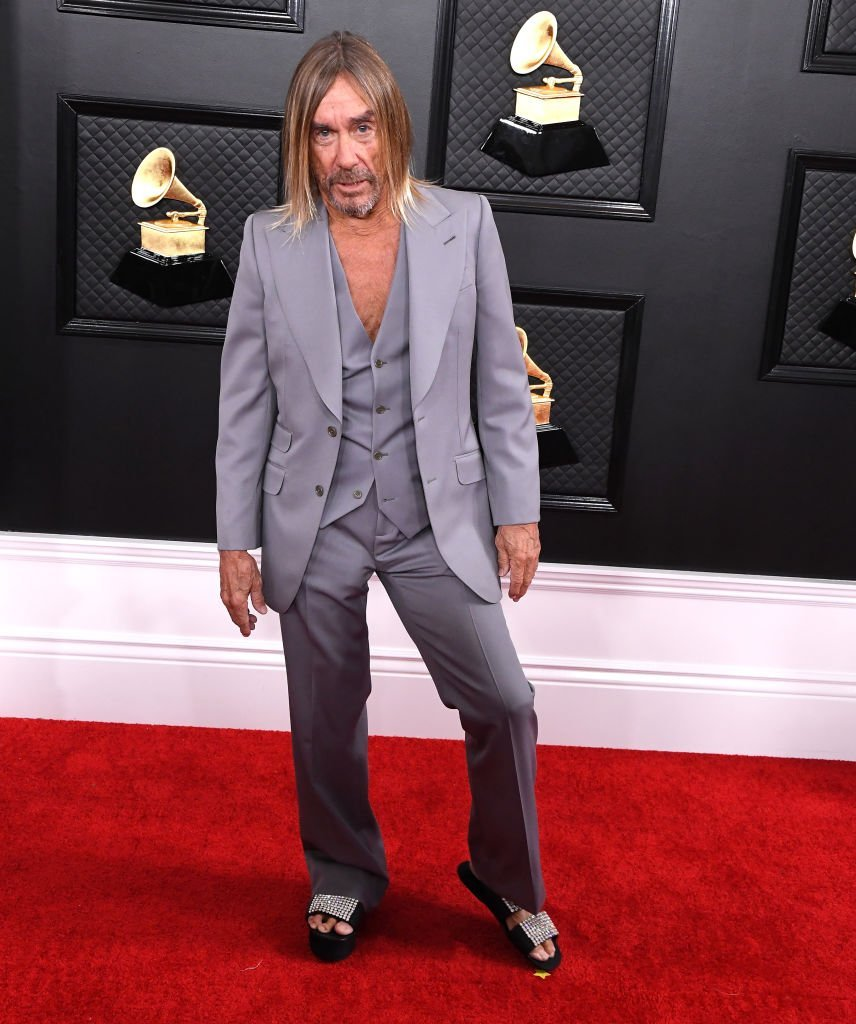 Iggy Pop arrives at the 62nd Annual GRAMMY Awards at Staples Center on January 26, 2020  | Photo: GettyImages
