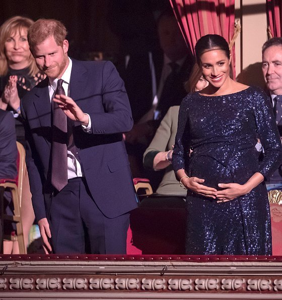 Prince Harry and Meghan attend the Cirque du Soleil Premiere at the Royal Albert Hall on January 16, 2019, in London, England. | Photo: Getty Images
