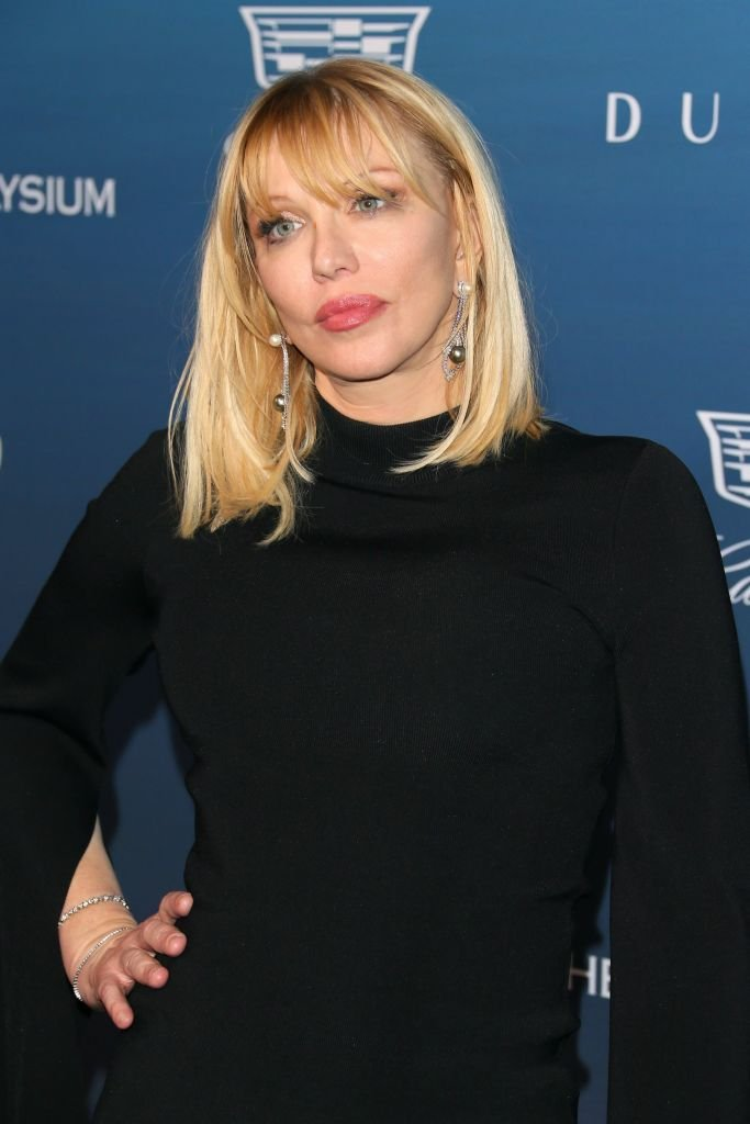Courtney Love pictured the Art of Elysium's 12th annual Gala, 2019, California. | Photo: Getty Images