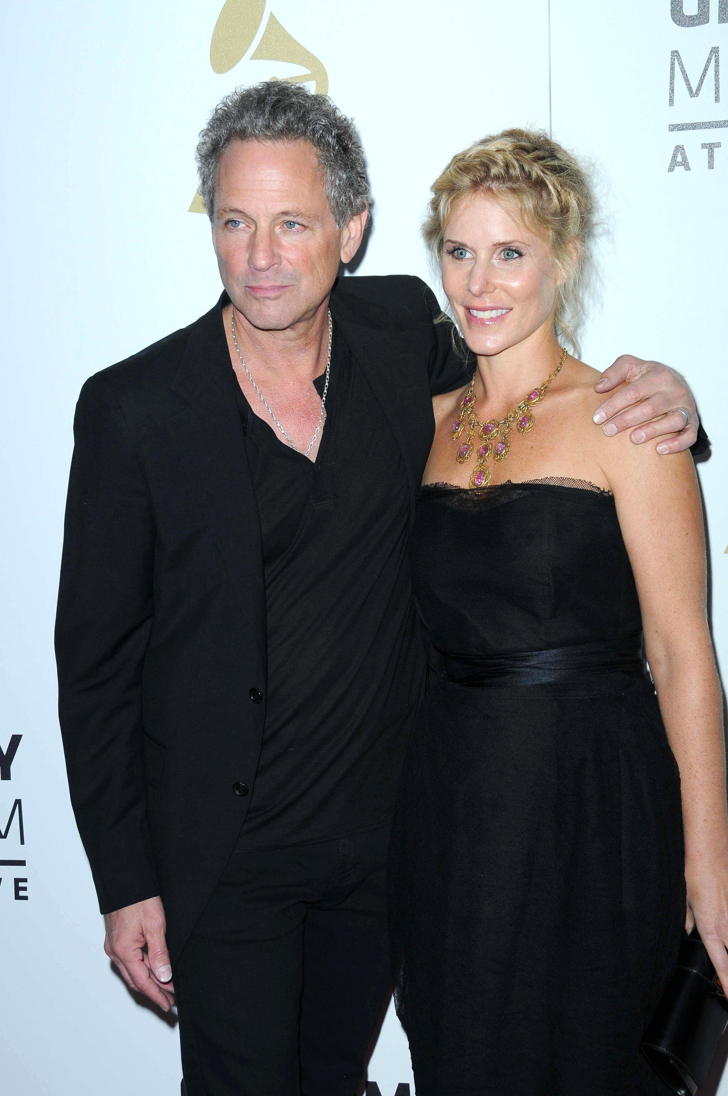 Lindsey Buckingham and wife Kristen Messner at The Grammy Nominations Concert Live!! at Nokia Theatre on December 3, 2008 in Los Angeles, California   Photo: Shutterstock