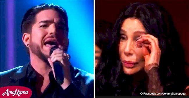 Adam Lambert a fait pleurer Cher au cours de sa magnifique performance de 'Believe'