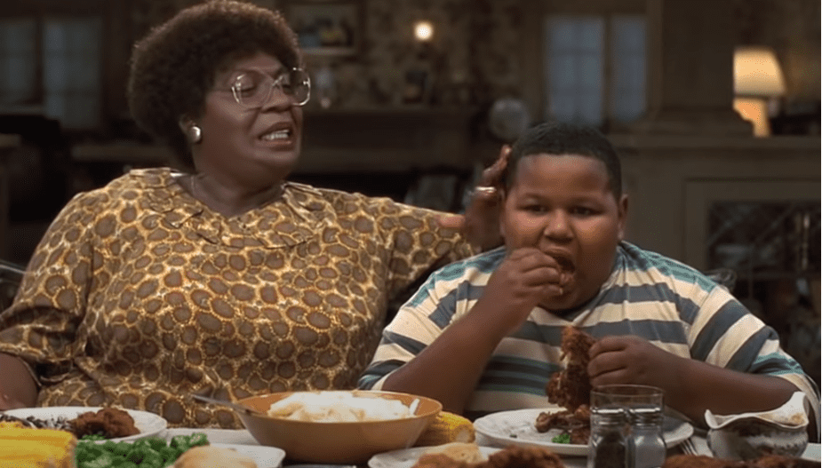 """Actor Jamal Mixon in a scene on """"The Nutty Professor""""   Photo: YouTube/movieclips"""