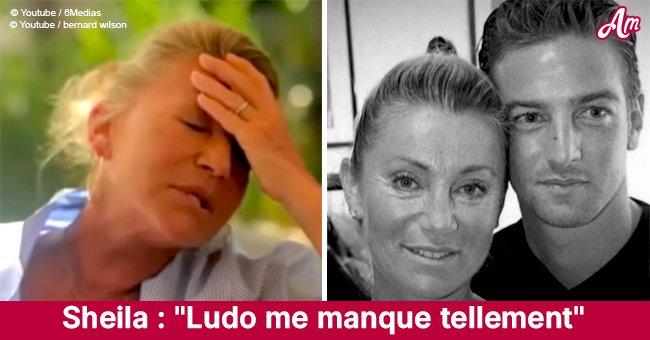 """""""Ludo me manque tellement"""": Sheila exprime sa douleur à la suite de la plus grande perte de sa vie"""