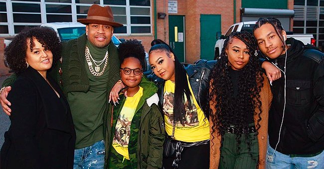 Meet NBA Star Allen Iverson's 2 Sons and 3 Daughters Who Look like Their Famous Father