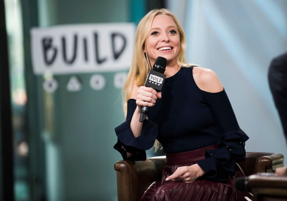 Portia Doubleday attending AOL Build Series in New York City in November 2017. | Image: Getty Images.