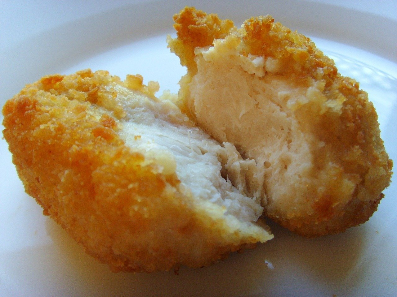 A batch of chicken nuggets. Image credit: Pixabay