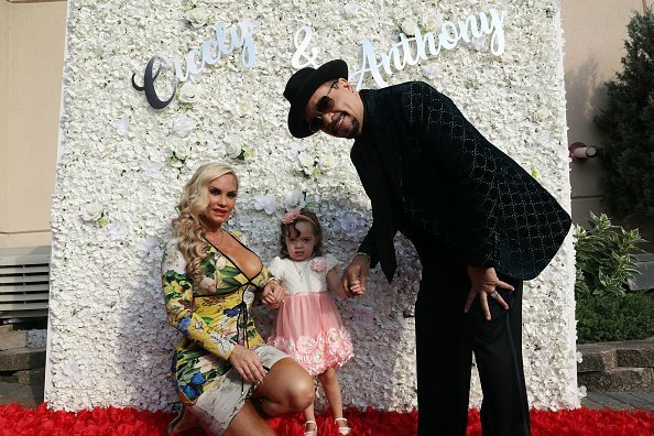 Coco Austin, Chanel Nicole Marrow, and Ice-T attend the Treach & Cicely Evans Wedding at Waterside Reception Hall in North Bergen, New Jersey | Photo: Getty Images