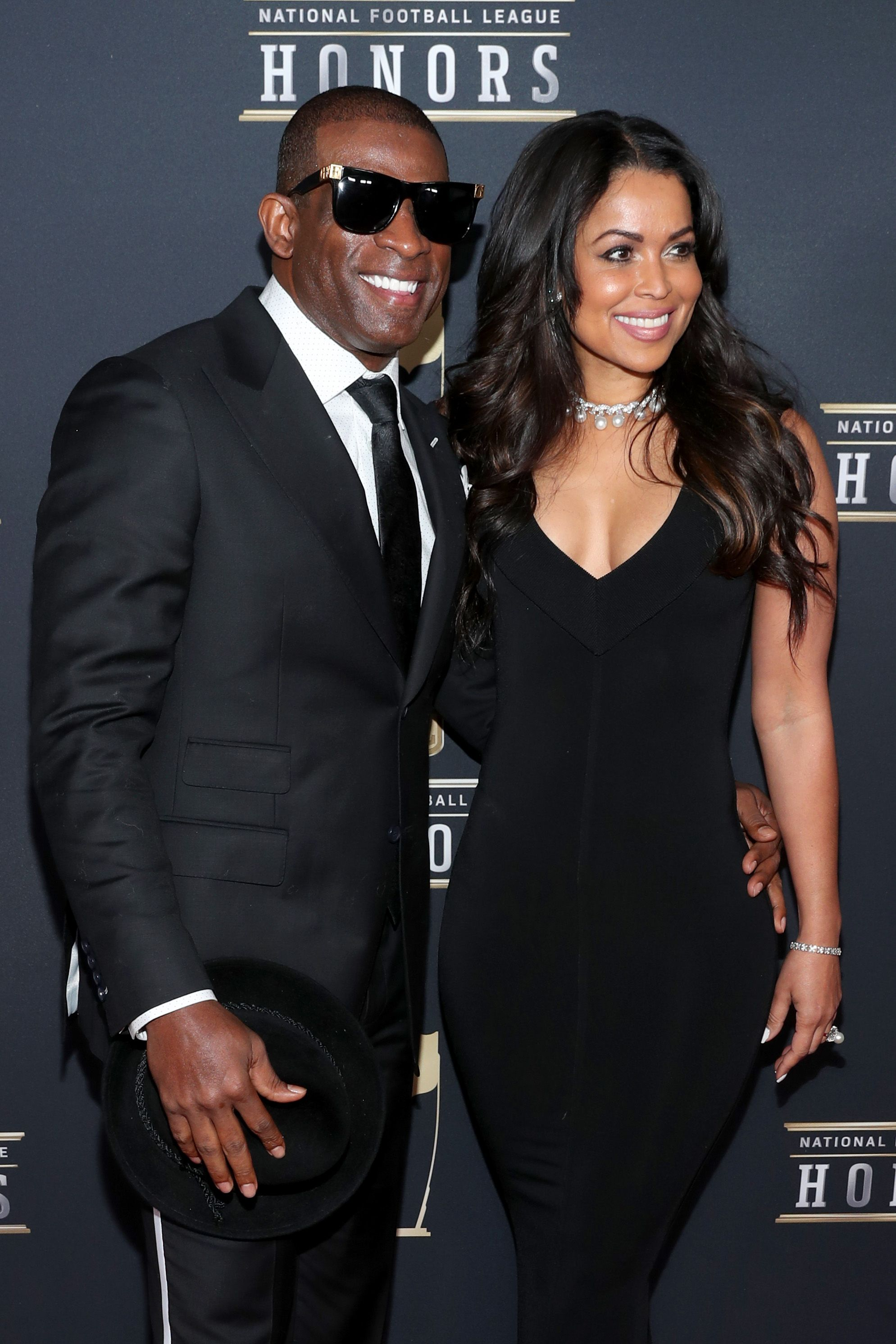 Deion Sanders and Tracey Edmonds attends the NFL Honors at University of Minnesota on February 3, 2018 in Minneapolis, Minnesota. | Photo: Getty Images
