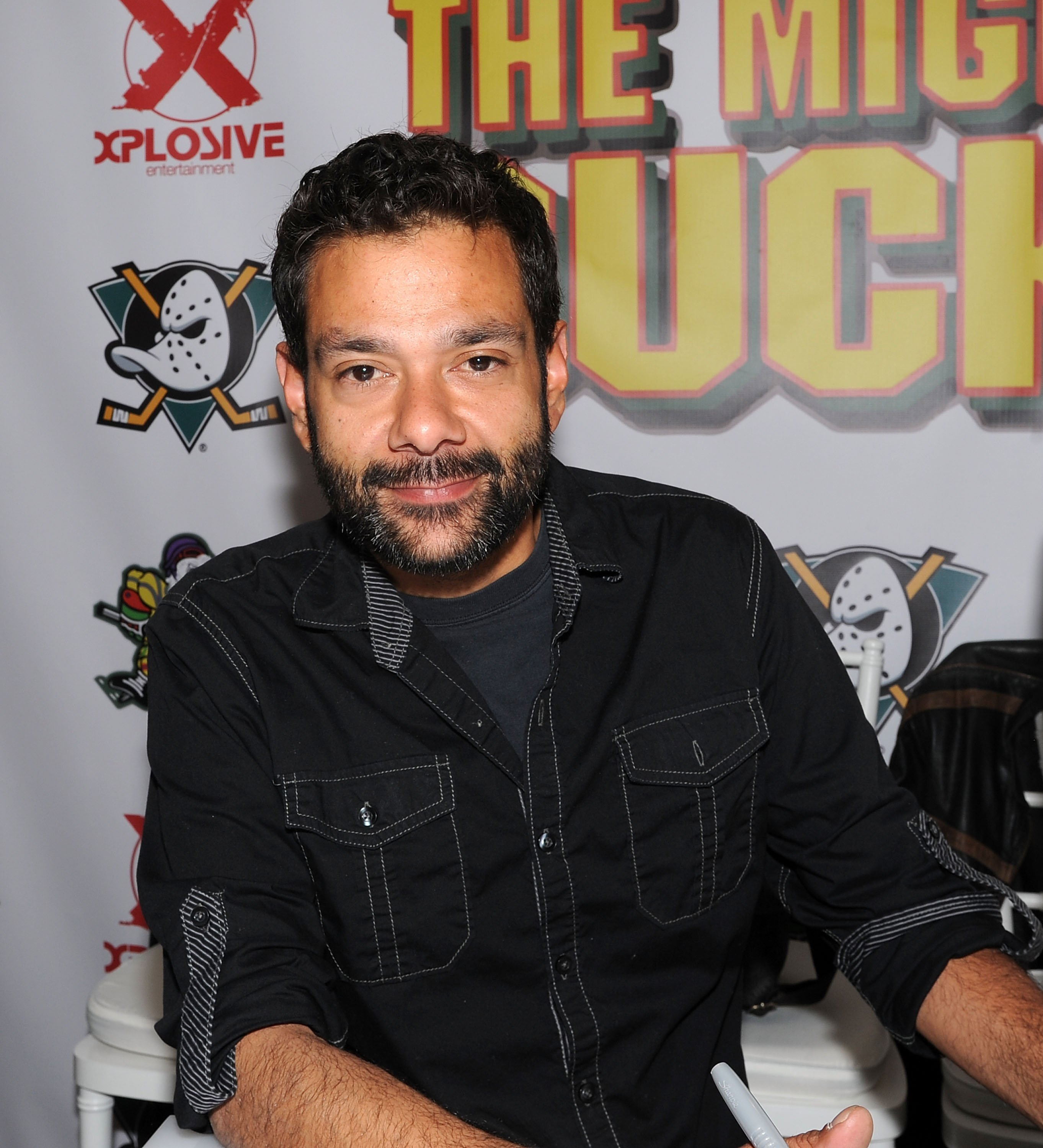 "Shaun Weiss from the movie ""The Mighty Ducks"" attends day 2 of the Chiller Theater Expo on April 25, 2015 