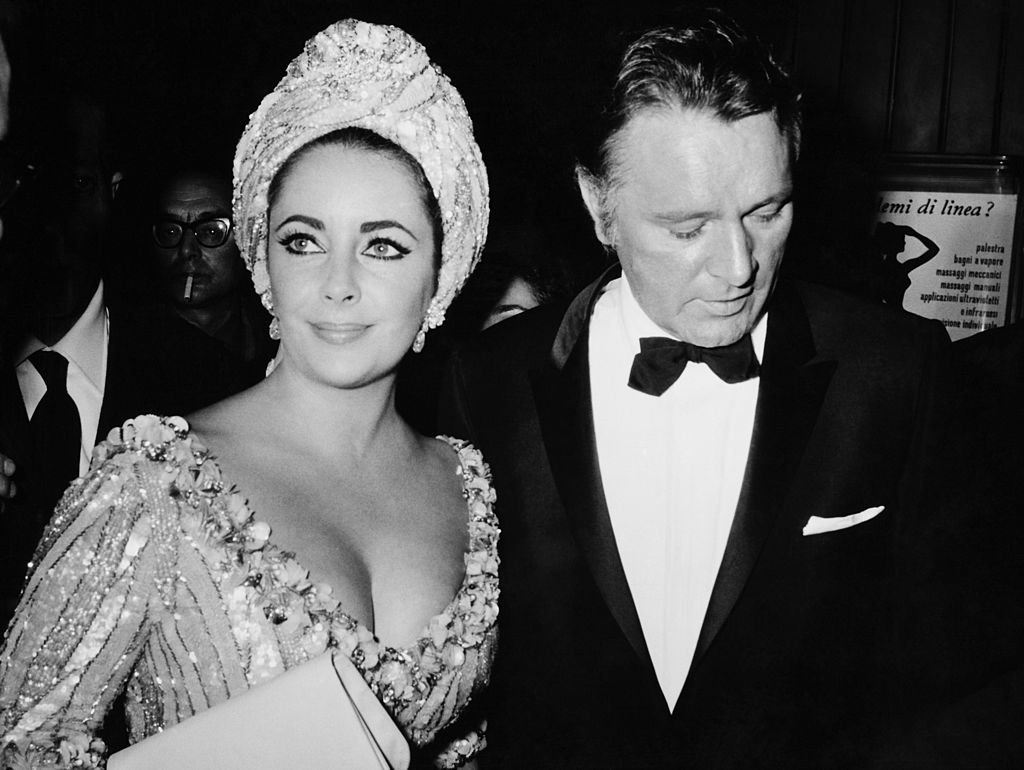 Richard Burton And Elisabeth Taylor At The Sistina Theater At Rome In Italy On October 5Th 1966. | Source: Getty Images