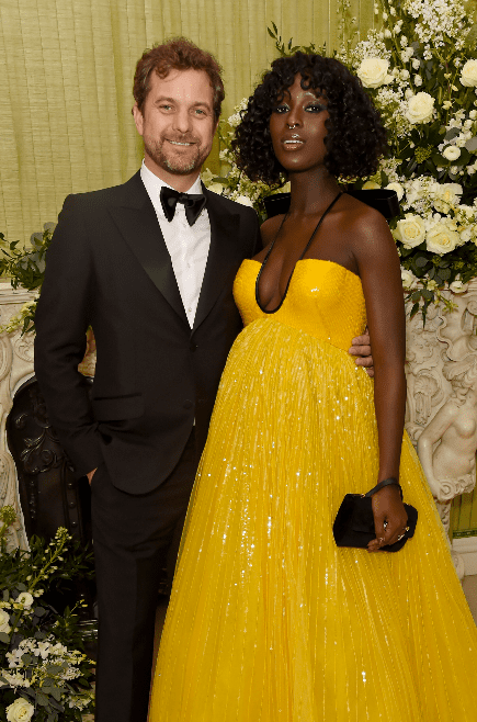 Joshua Jackson and Jodie Turner-Smith attend the British Vogue and Tiffany & Co. Fashion and Film Party at Annabel's on February 2, 2020 in London, England. | Source: Getty Images