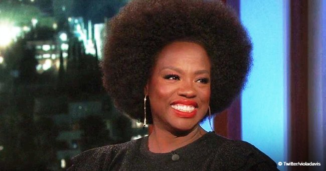 Viola Davis educates Jimmy Kimmel on what menopause is & why it might be dangerous for her husband