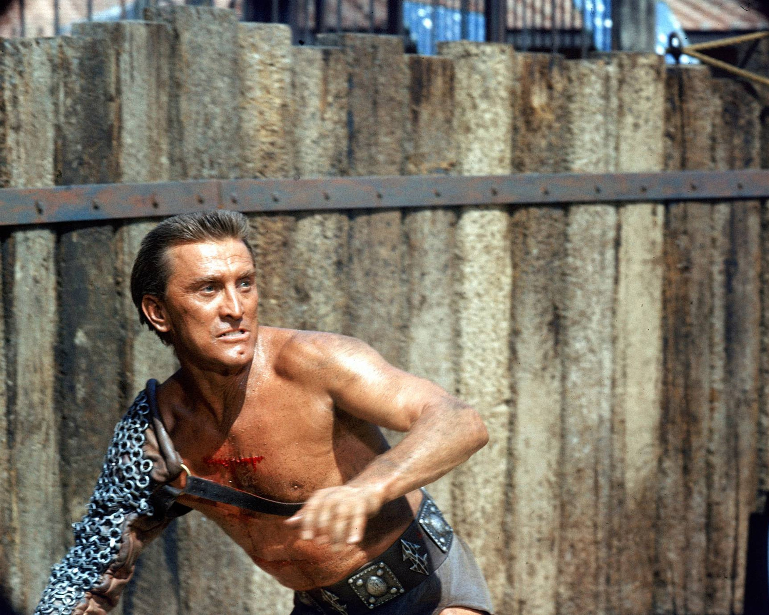 Kirk Douglas in a publicity still issued for the film, 'Spartacus', 1960. | Source: Getty Images.