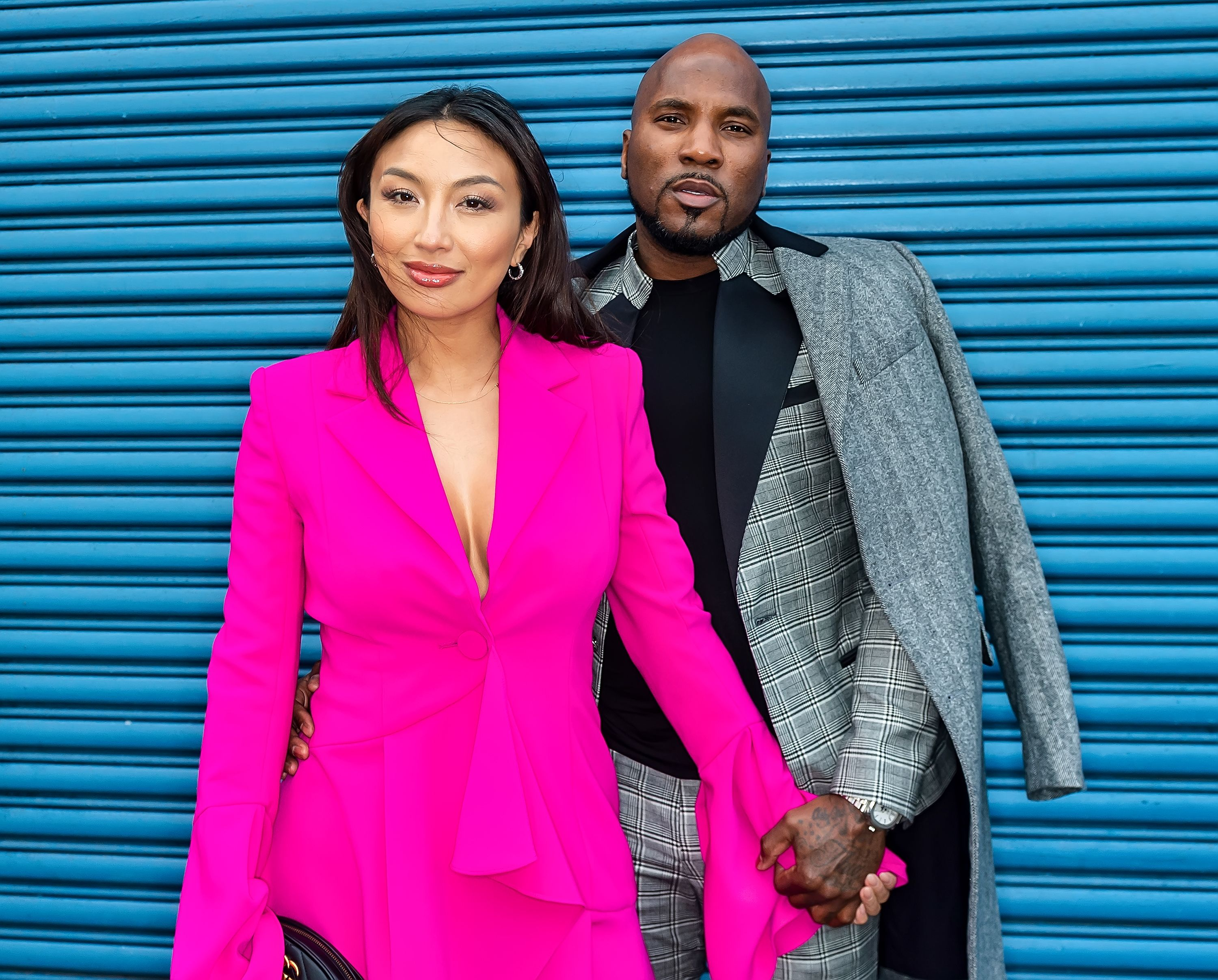 Jeannie Mai and Rapper Jeezy at New York Fashion Week at Pier 59 Studios on February 07, 2020 | Photo: Getty Images
