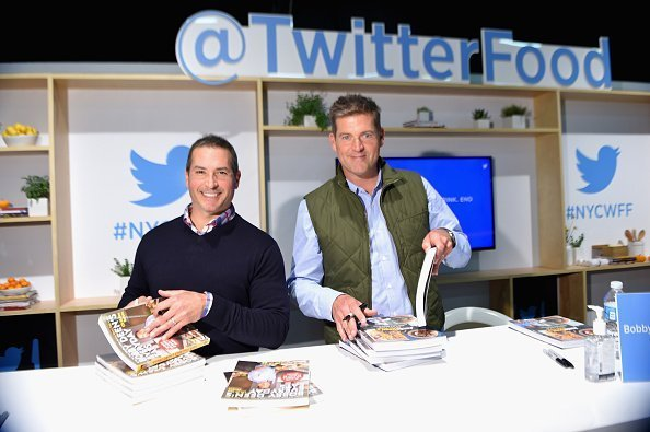 Chefs Bobby Deen and Jamie Deen at the Grand Tasting in New York City. | Photo: Getty Images
