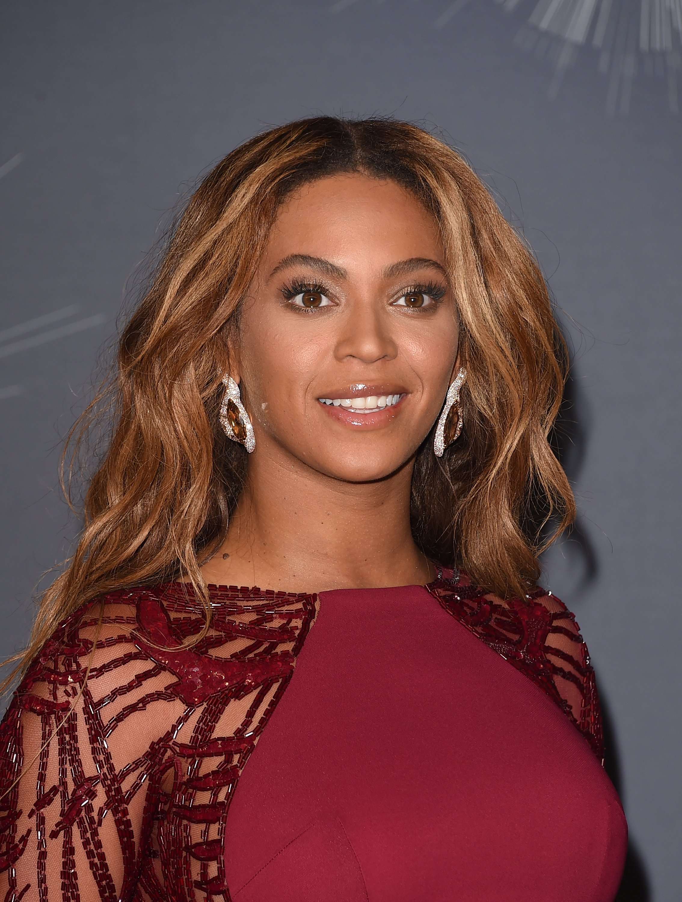 Beyonce at the press room during the 2014 MTV Video Music Awards. | Photo: Getty Images