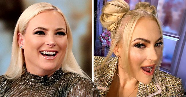 Meghan McCain Switches up Her Typical Hairstyle for 2 Stylish Buns on New Episode of 'The View'