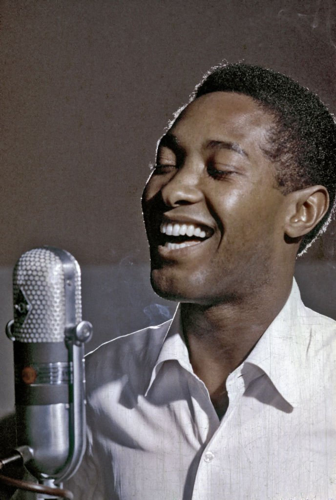 A photo of Sam Cooke during a music session on January 01, 1960 | Photo: Getty Images