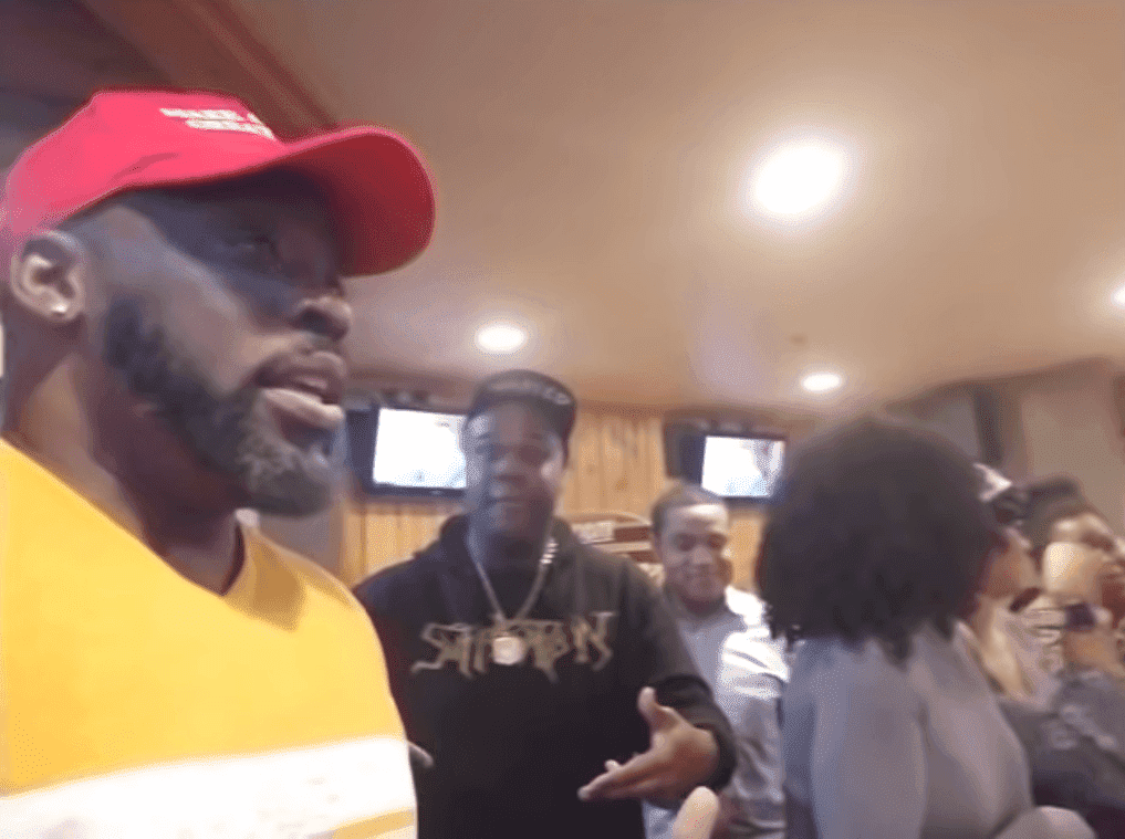 Tommy Sotomayor and his party while he explained the incident at a Hooters restaurant | Source: YouTube/Tommy Sotomayor REBORN!