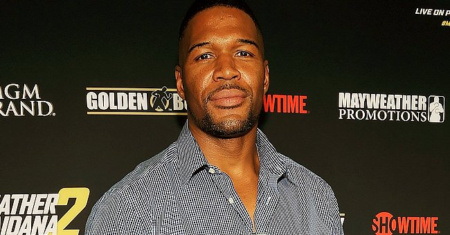 Michael Strahan Dances & Cooks in Kitchen with Twin Daughter & Alleged Girlfriend Kayla Quick
