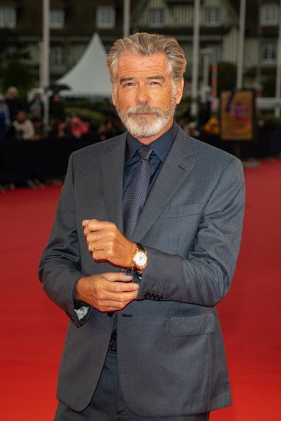 Pierce Brosnan at the 45th Deauville American Film Festival on September 06, 2019 | Photo: Getty Images