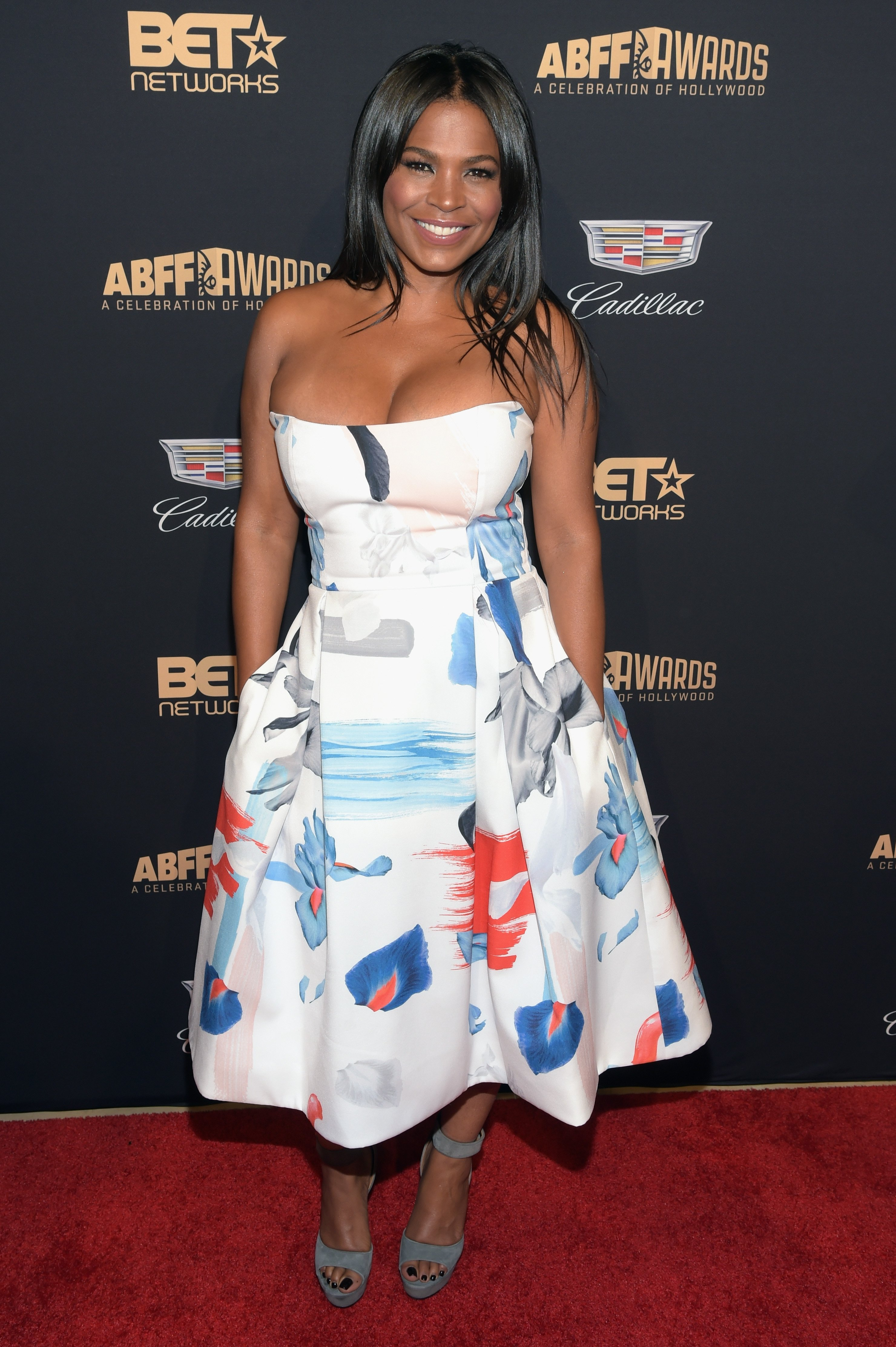 Nia Long at the 2016 ABFF Awards: A Celebration Of Hollywood on Feb. 21, 2016 in Beverly Hills, California | Photo: Getty Images