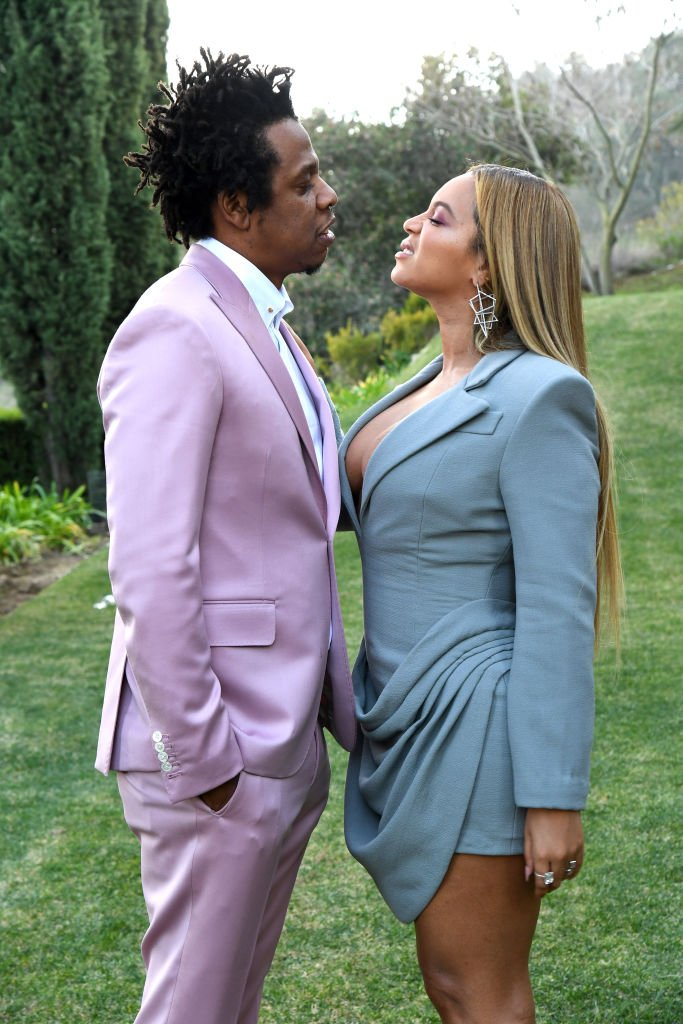 "Jay-Z and Beyoncé attend Roc Nation's ""The Brunch"" in 2020 