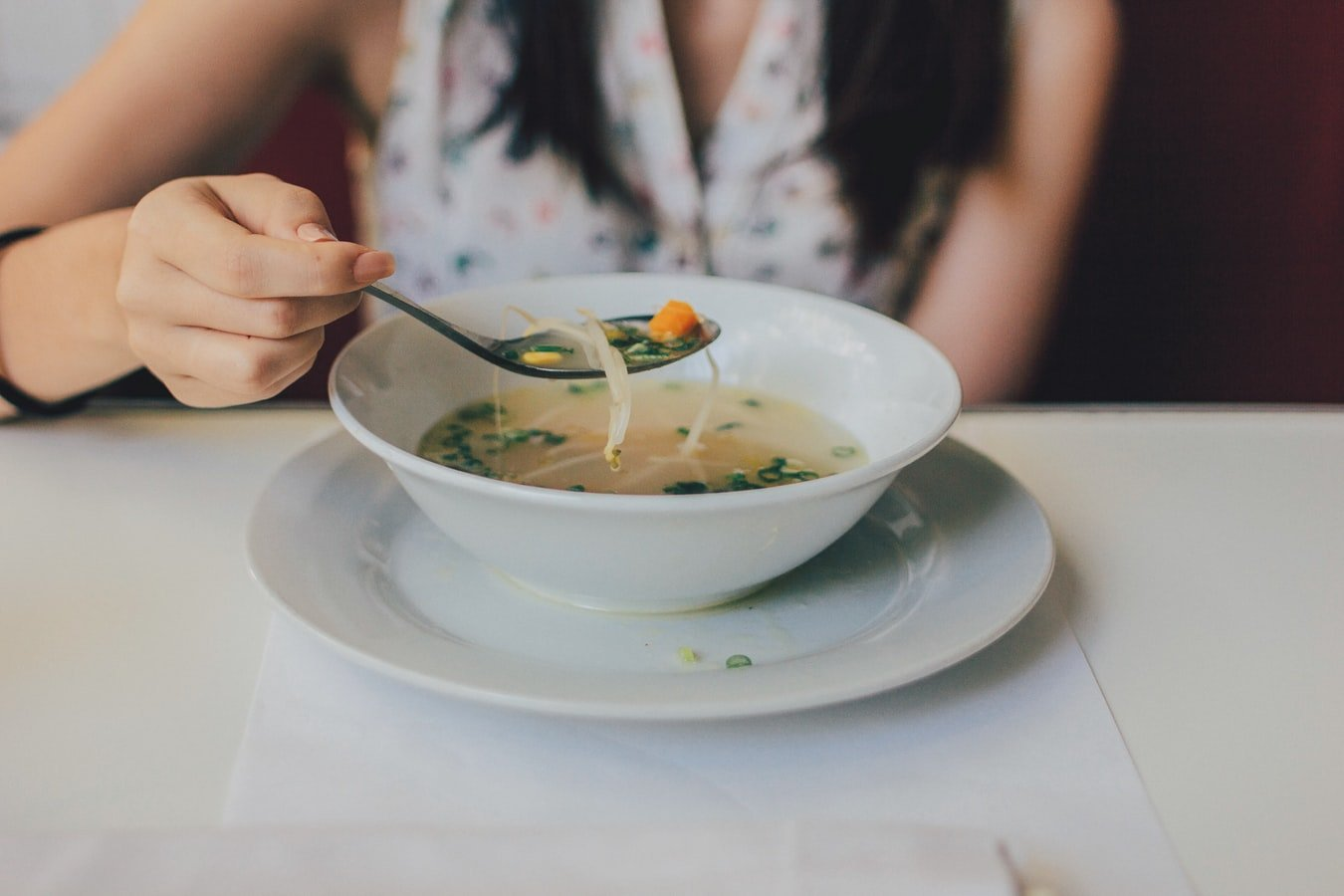 Eating pasta | Source: Unsplash