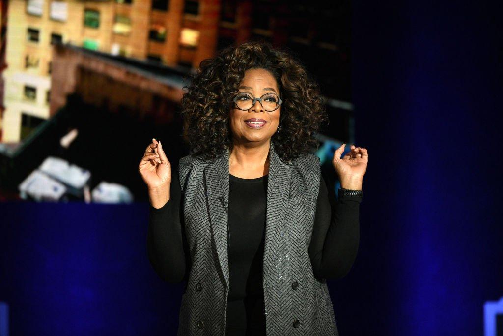 Oprah Winfrey speaks onstage during Oprah's SuperSoul Conversations | Photo: Bryan Bedder/Getty Images