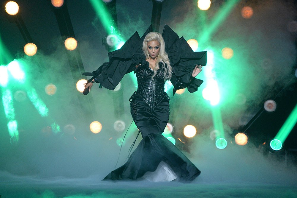 """Tyra Banks during the Halloween episode of """"Dancing with the Stars"""" in October 2020. I Image: Getty Images."""