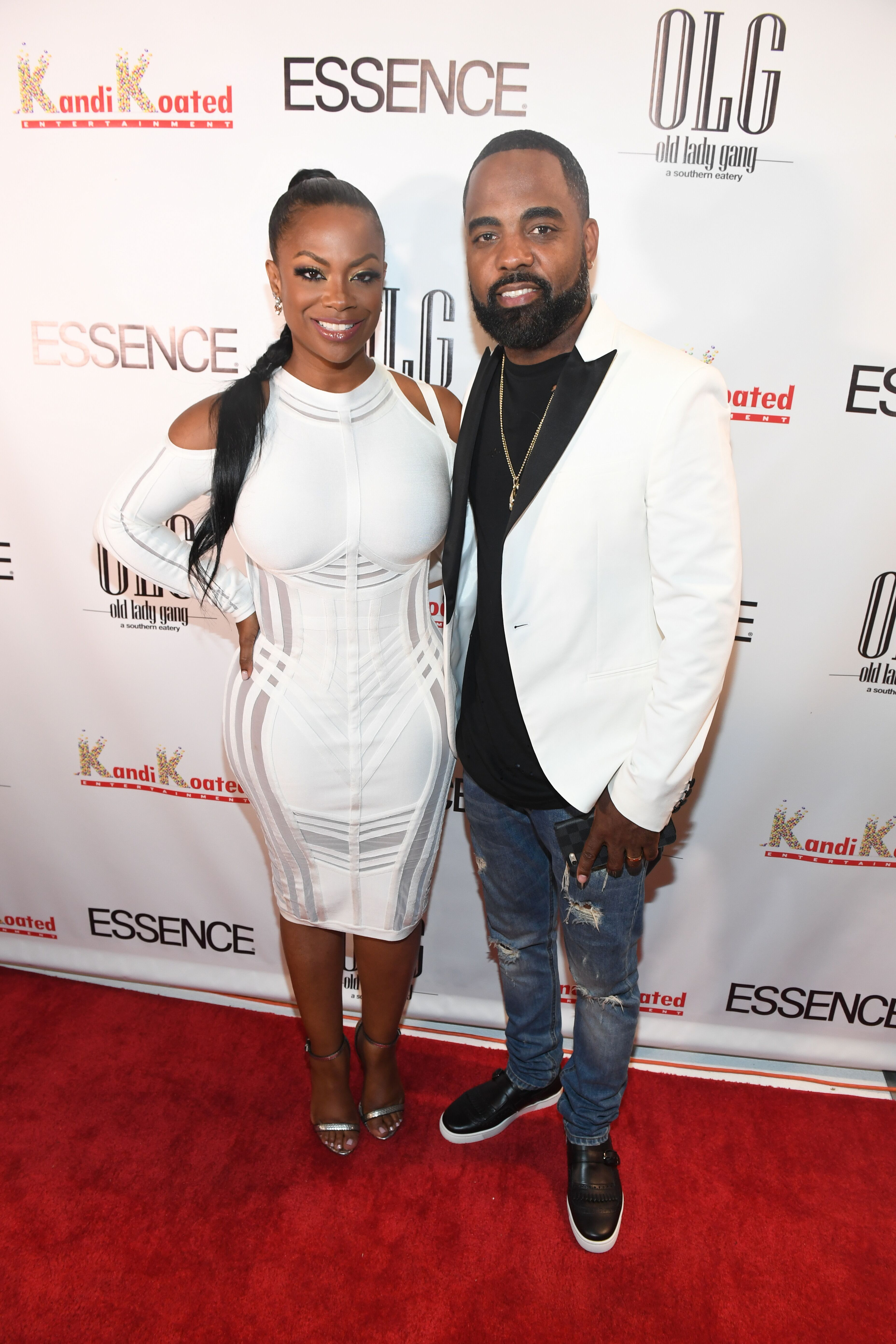 Kandi Burruss and Todd Tucker at Essence Magazine Celebrates October Cover Star Kandi Burruss. | Source: Getty Images