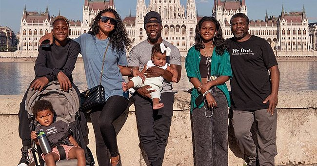 See Kevin Hart and His Family Smiling in New Photos from Their Budapest Trip