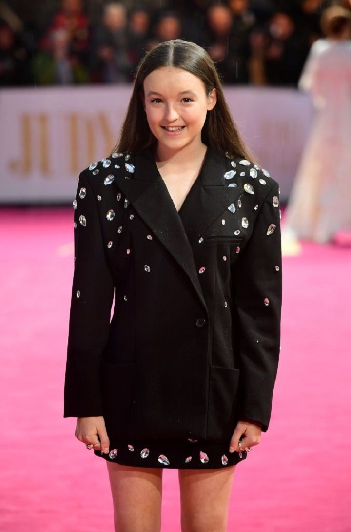 Bella Ramsey arriving for the Judy European Premiere held at the Curzon Theatre in Mayfair, London, England. | Image: Getty Images.