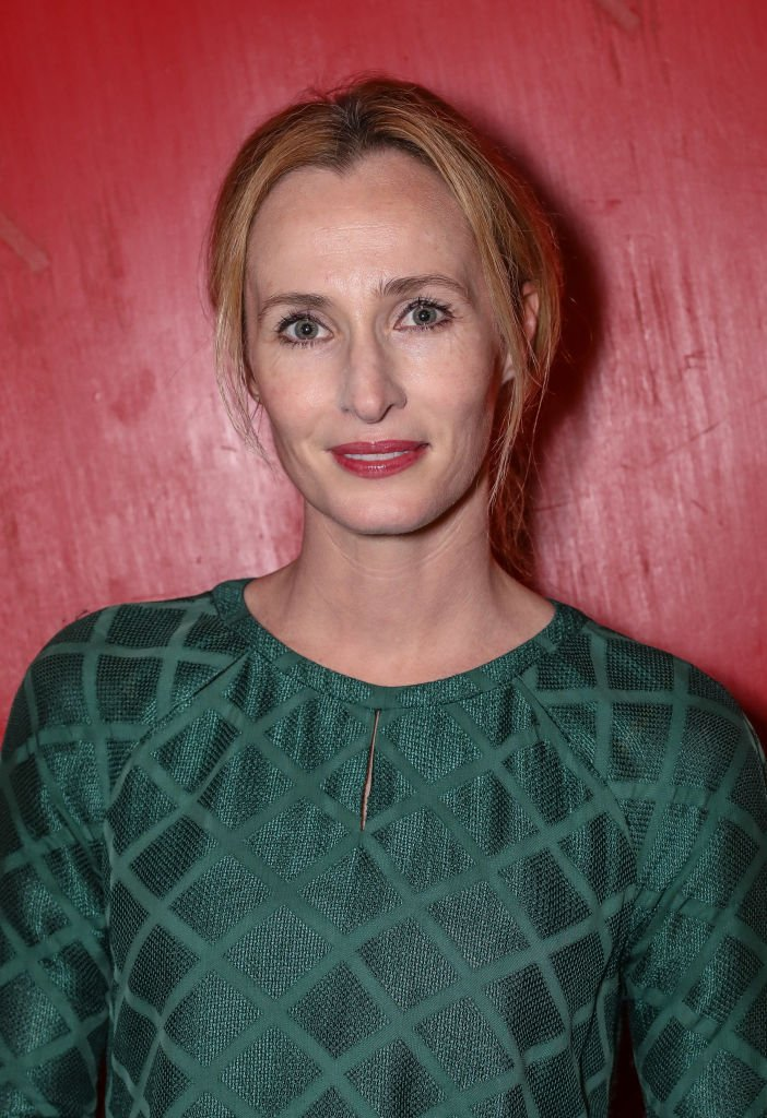 "Genevieve O'Reilly at the press night after party for ""The Ferryman"" at Royal Court Theatre on May 3, 2017 in London, England. 