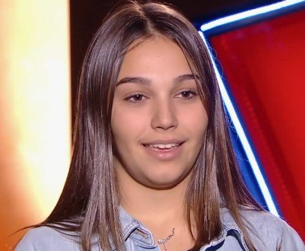Manon avant de monter sur scène. l Source : TF1 Replay