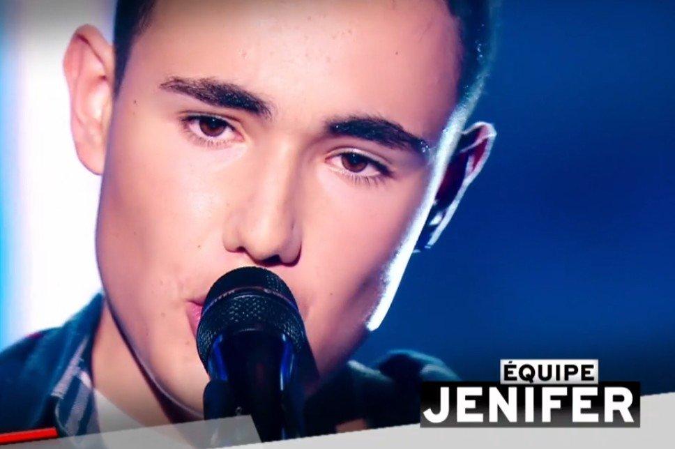 Théo qui a rejoint l'équipe de Jenifer. l Source : TF1 Replay