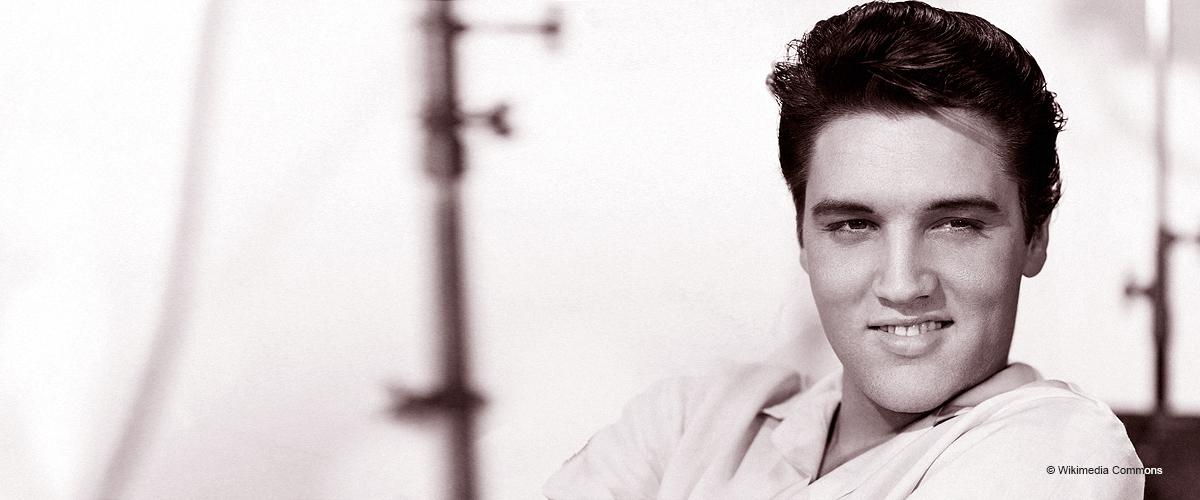 Das ist Elvis Presleys erwachsener Enkel, der genau wie sein berühmter Großvater aussieht