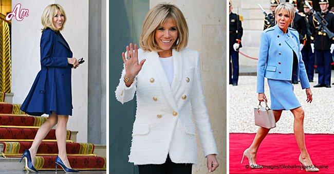 Brigitte Macron: ses meilleurs looks de l'année 2018
