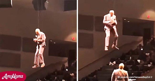 Un prêcheur du Mississippi a surpris tout le monde en raison de son entrée inhabituelle au sermon
