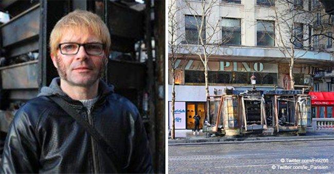 """Jose, un kiosquier de Paris, affecté par les Gilets Jaunes : """" Je suis au chômage, j'ai tout perdu"""""""