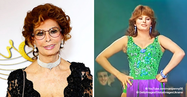 """Sophia Loren a chanté une fameuse chanson """"Americano"""" et c'est époustouflant"""