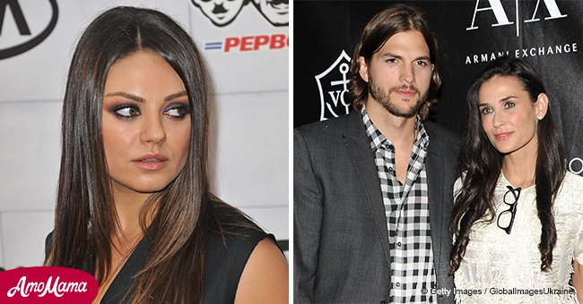 Mila Kunis candidly opens up about Ashton Kutcher's marriage to Demi Moore