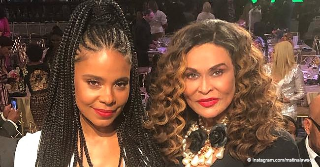 Beyoncé's Mom Poses with Sanaa Lathan Almost a Year After Bite Scandal