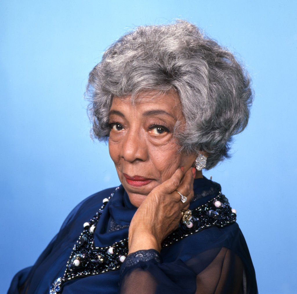 Zara Cully (as Mother Jefferson) in the CBS television situation comedy, THE JEFFERSONS. Premier episode aired January 18, 1975.   Photo: Getty Images