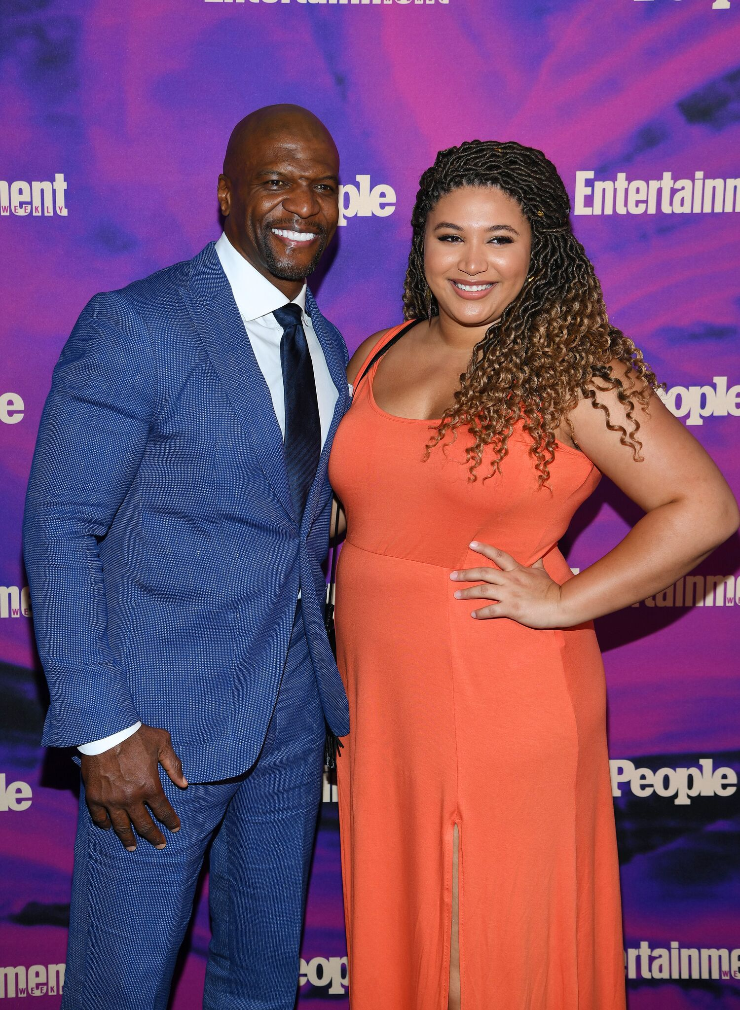 Terry Crews and Azriel Crews attend the Entertainment Weekly & PEOPLE New York Upfronts Party on May 13, 2019 in New York City. | Getty Images
