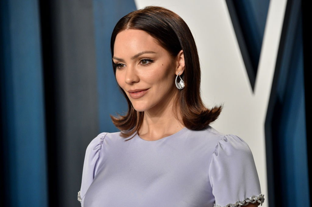Katharine McPhee pictured at the 2020 Vanity Fair Oscar Party, Beverly Hills, California.   Photo: Getty Images
