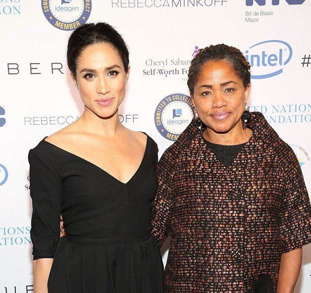 Meghan Markle Catches Her Breath After Feeling The Baby