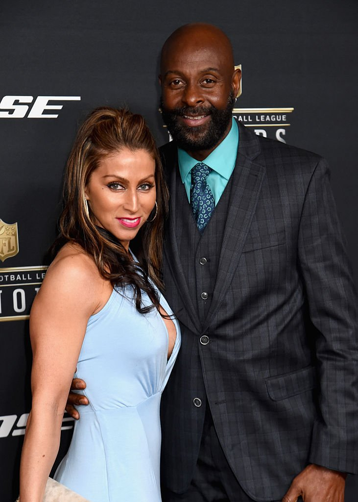 Latisha Pelayo and Jerry Rice attend the 5th Annual NFL Honors at Bill Graham Civic Auditorium on February 6, 2016 in San Francisco, California | Photo: GettyImages