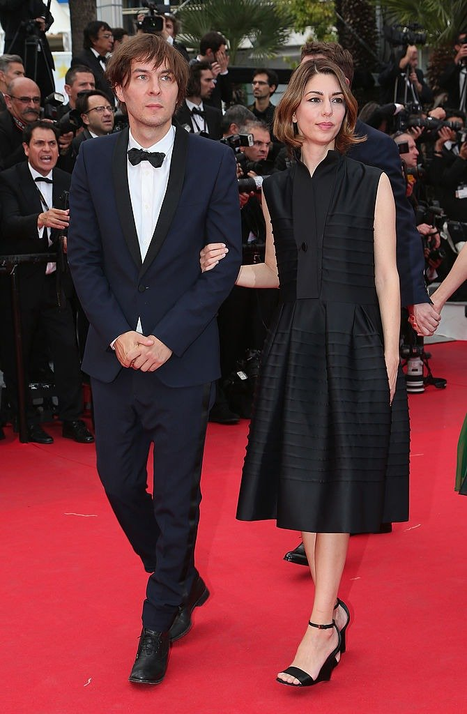 Sofia Coppola and Thomas Mars at the 67th Annual Cannes Film Festival on May 17, 2014   Photo : Getty Images
